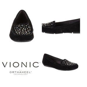 Vionic Chill Athens - Black Jeweled Shoes 9